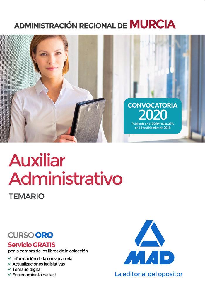 Auxiliar administrativo de la administracion regional de mur