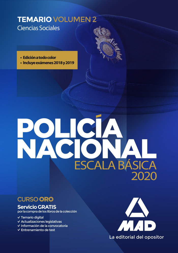 Policia nacional escala basica temario vo
