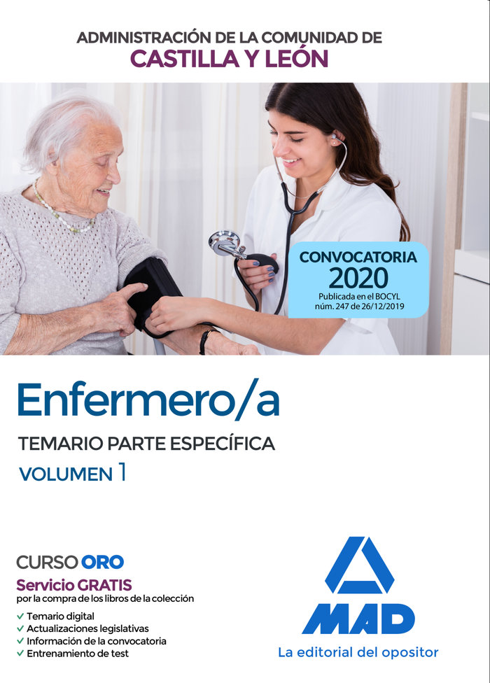 Enfermero/a de la administracion de la comunidad de castilla