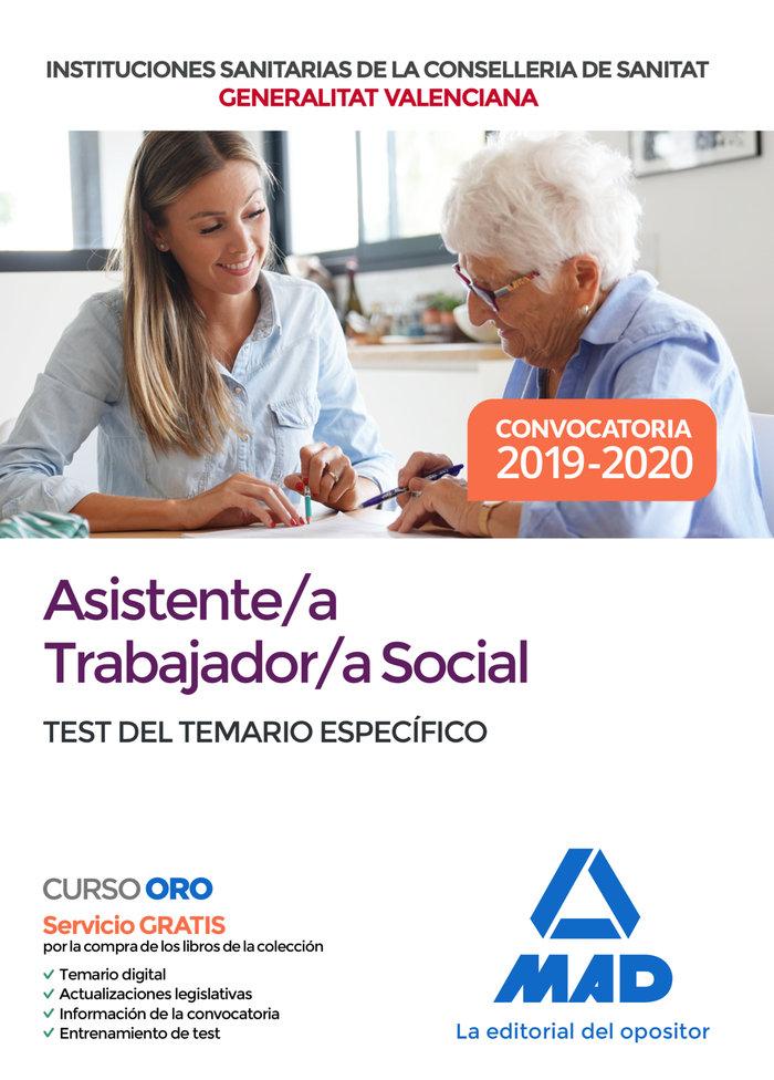 Asistente/a trabajador/a social de las instituciones sanitar
