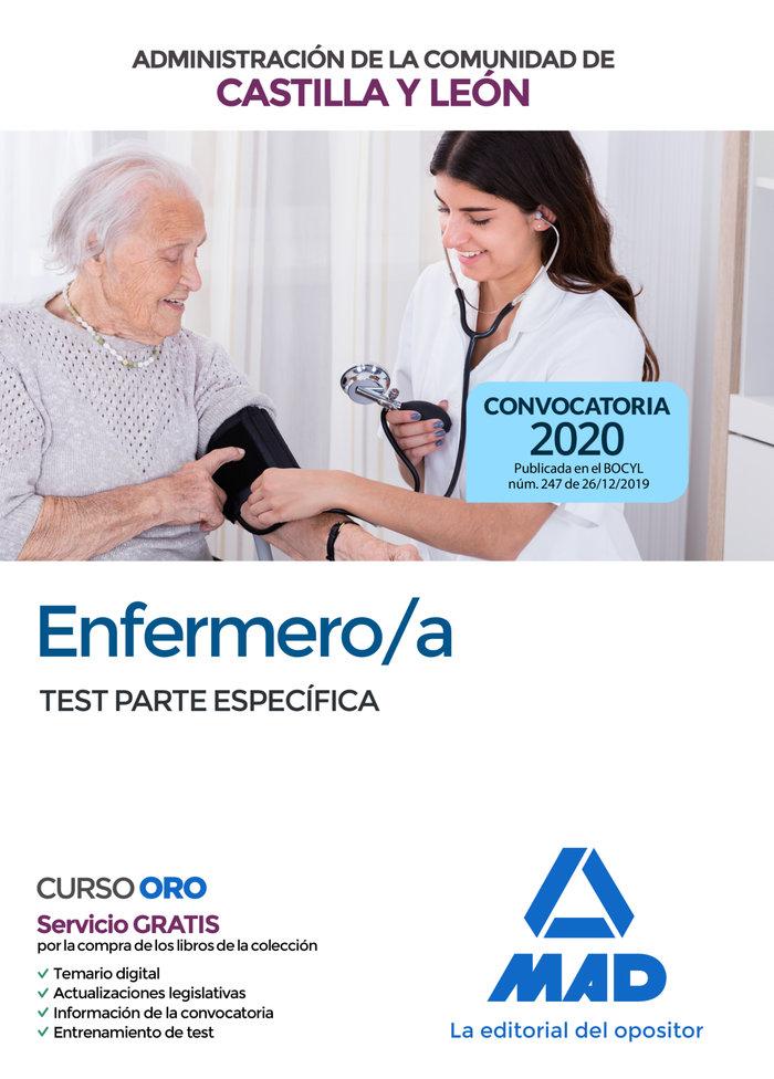 Enfermero/a test castilla y leon