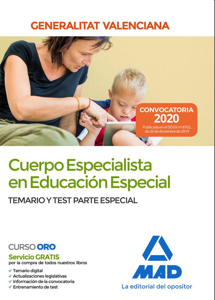 Cuerpo especialista en educacion especial de la administraci