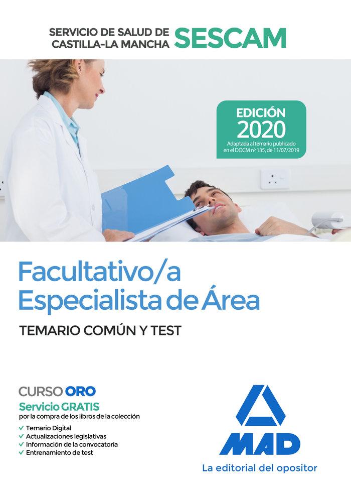 Facultativo/a especialista de area del servicio de salud de