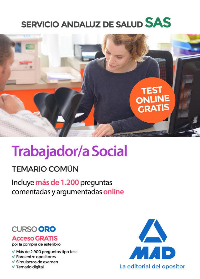 Trabajador/a social sas temario comun 2020