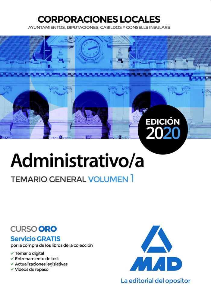 Administrativo/a corporacion local