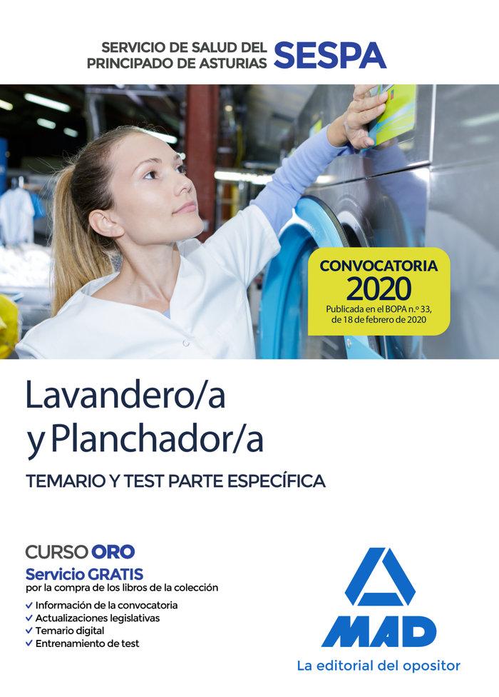 Lavandero/a planchador/a servicio salud asturias temario es