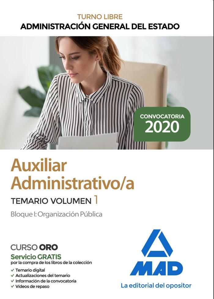 Auxiliar administrativo administracion general estado v 1