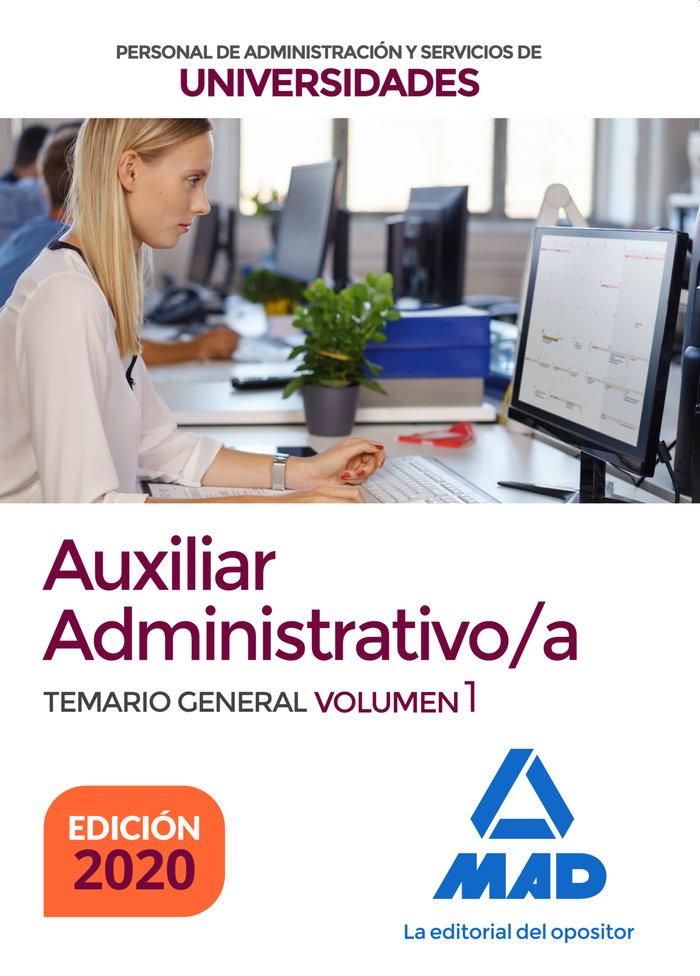 Auxiliar administrativo de universidades