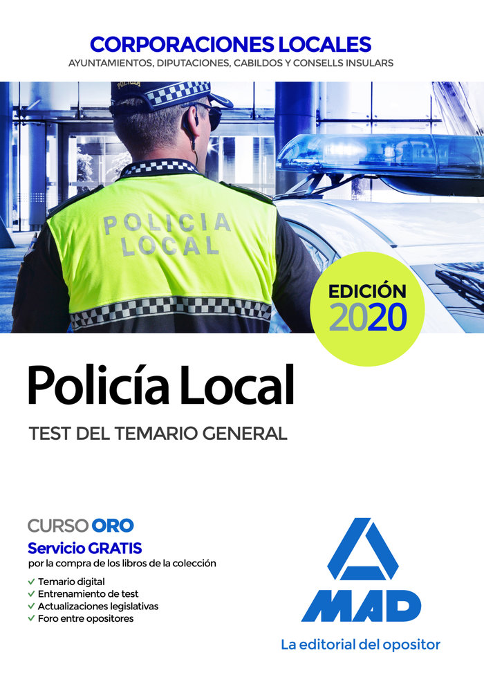 Policia local test del temario general