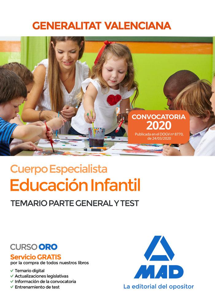 Cuerpo especialista educacion infantil administracion temar