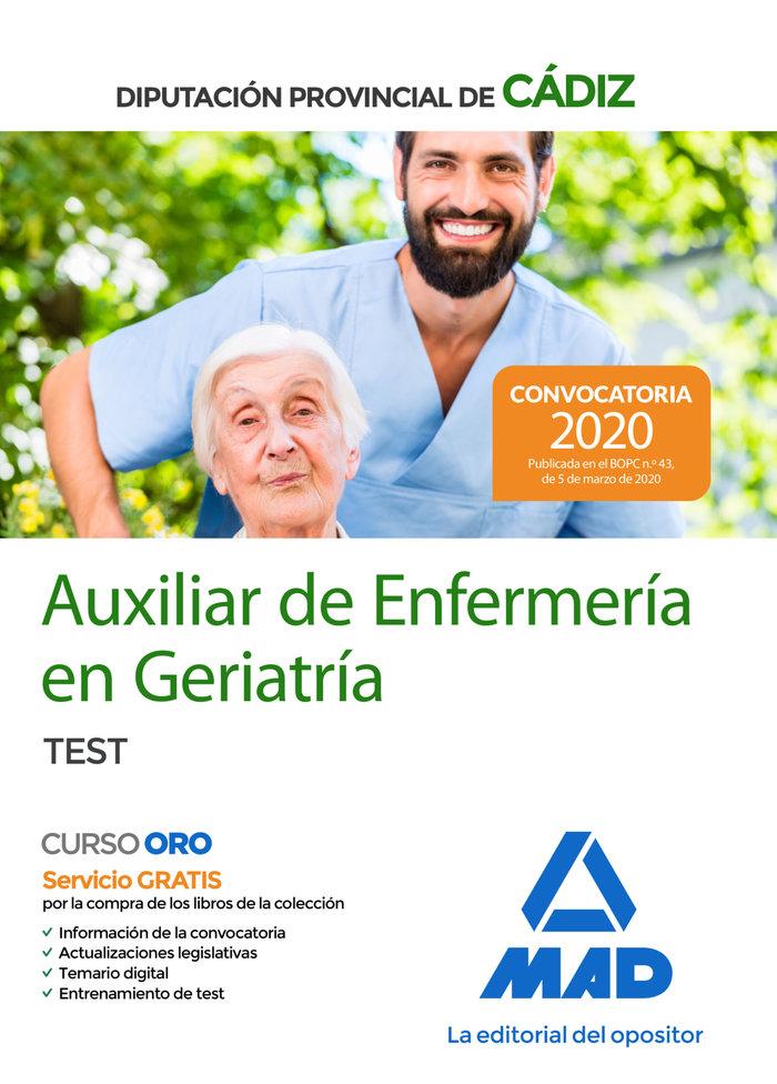 Auxiliares enfermeria geriatria dip provincial cadiz test
