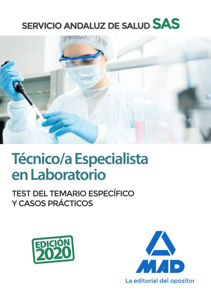 Tecnico/a especialista laboratorio servicio andaluz test