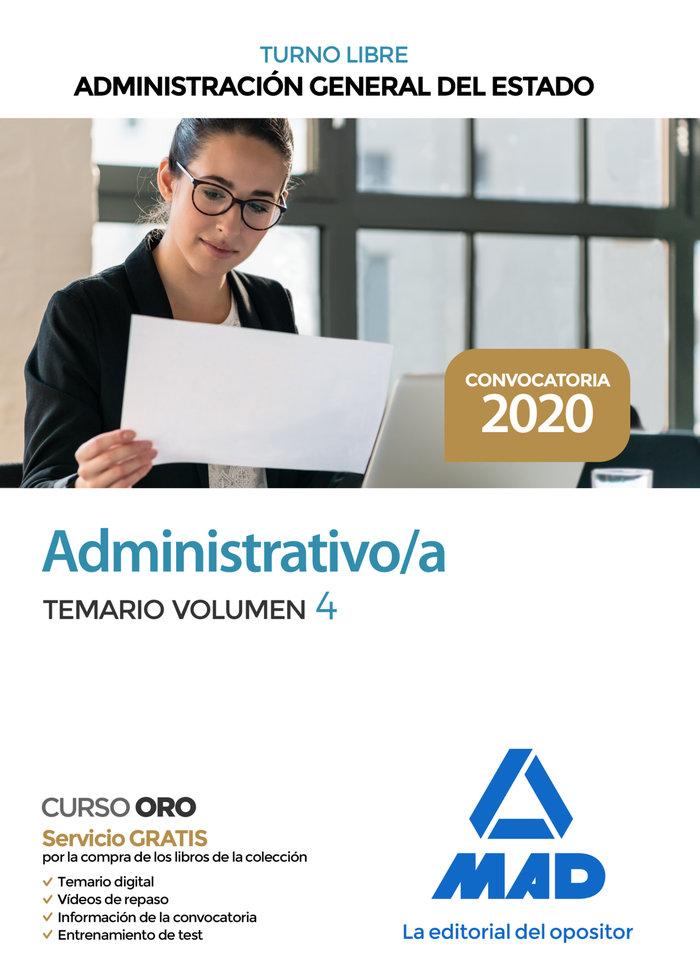 Administrativo administracion general estado vol 4 libre