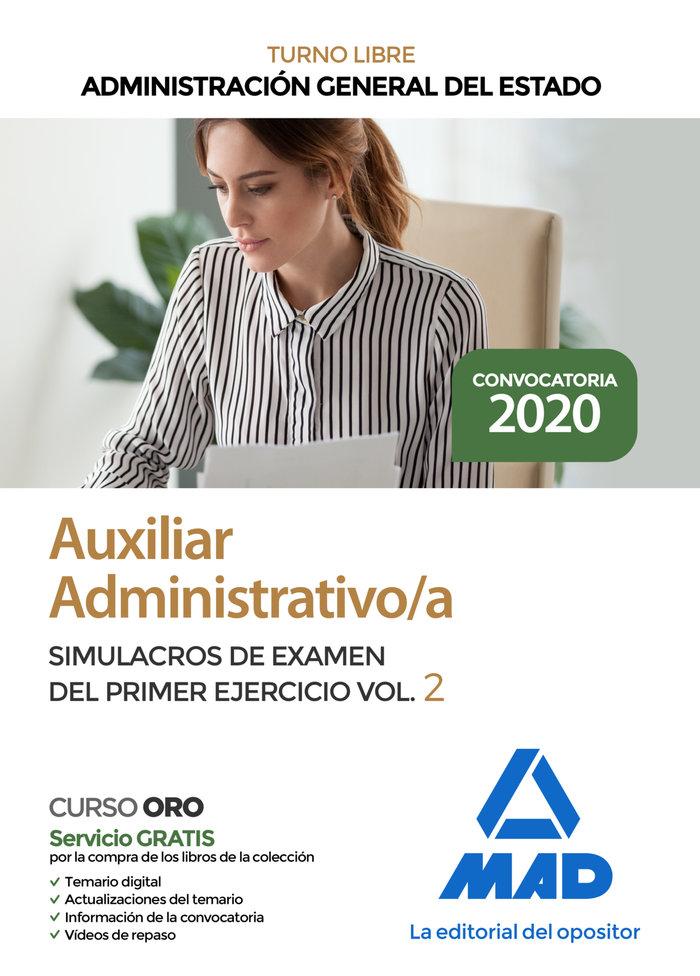 Auxiliar administrativo administracion general estado simul