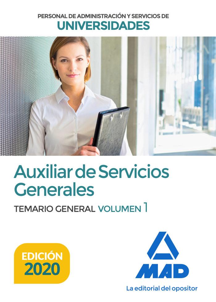 Auxiliar servicios general universidades temario vol 1