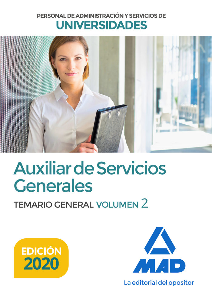 Auxiliar servicios generales universidades temario vol 2