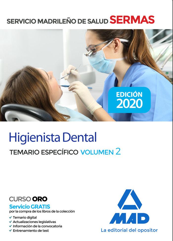 Higienista dental servicio salud madrid vol 2