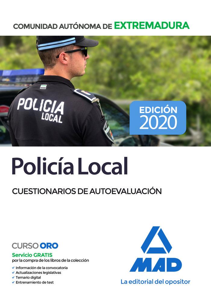 Policia local de extremadura cuestionario de autoevaluacion