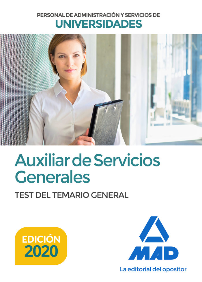 Auxiliar de servicios generales de universidades. test del t