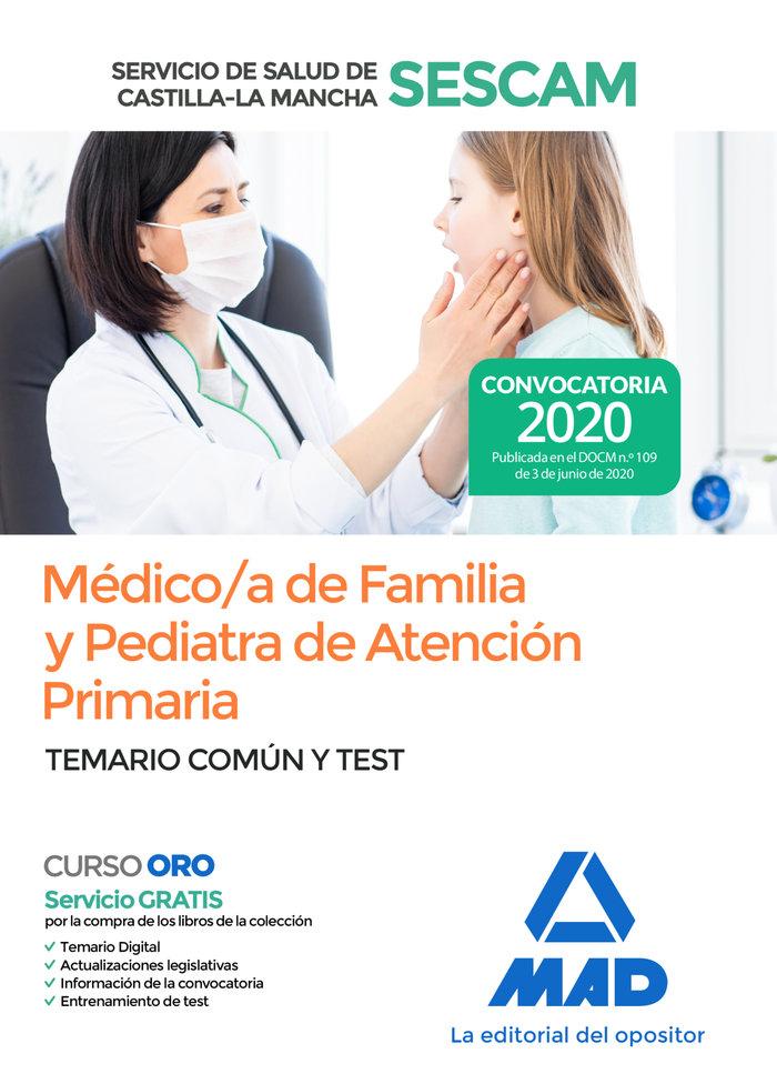 Temario comun test medico/a familia y pediatria atencion pr