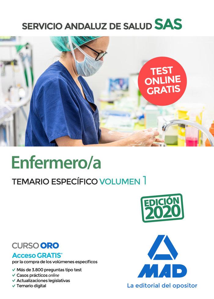 Enfermero/a servicio andaluz salud temario especifico vol 1