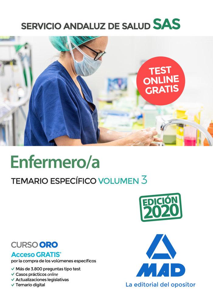 Enfermero/a del servicio andaluz de salud. temario especific