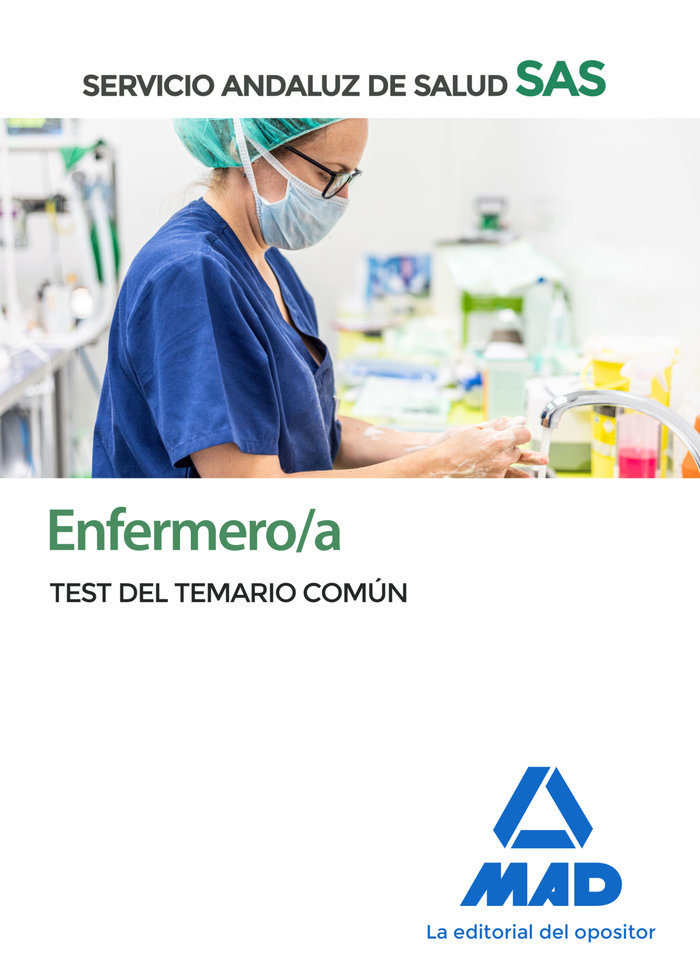 Enfermero/a sas test temario comun 2020