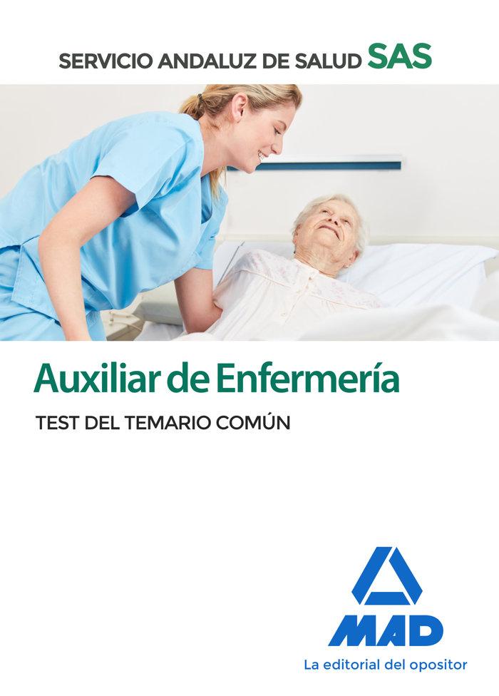 Auxiliar enfermeria servicio andaluz salud test