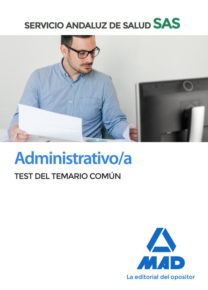 Administrativo/a sas test del temario comun 2020