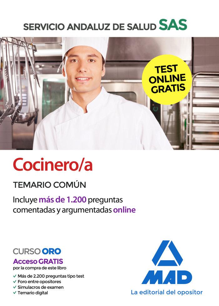Cocinero/a sas temario comun 2020