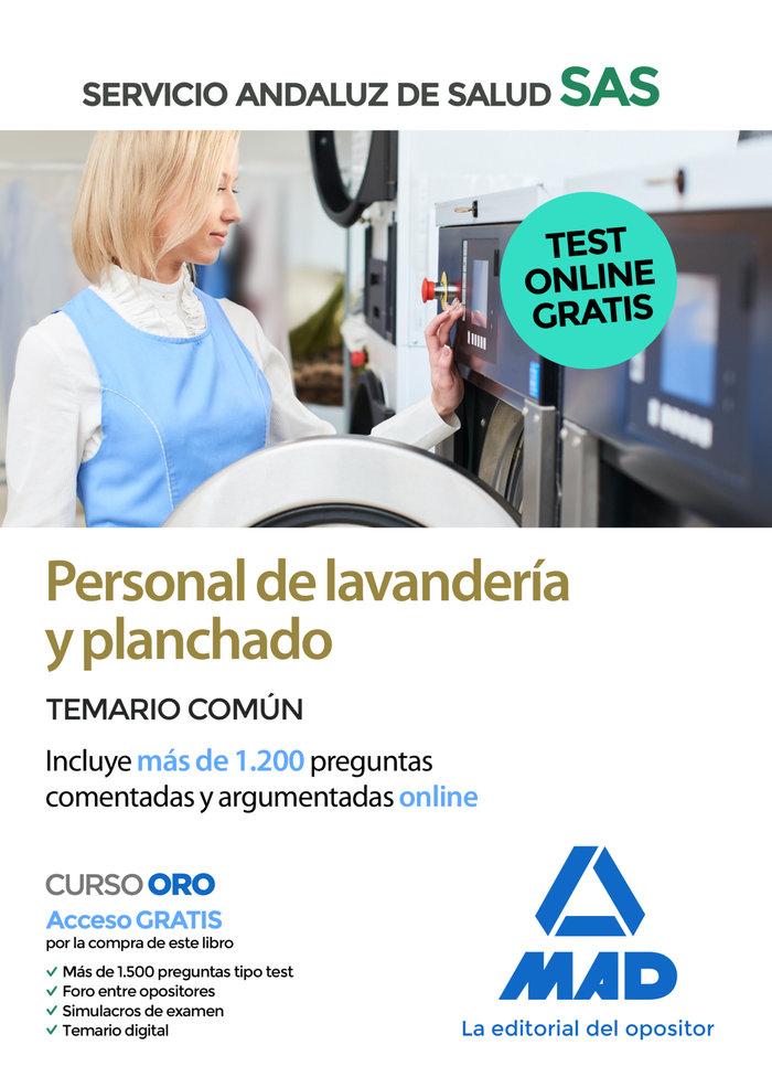 Personal lavanderia y planchado sas temario comun 2020