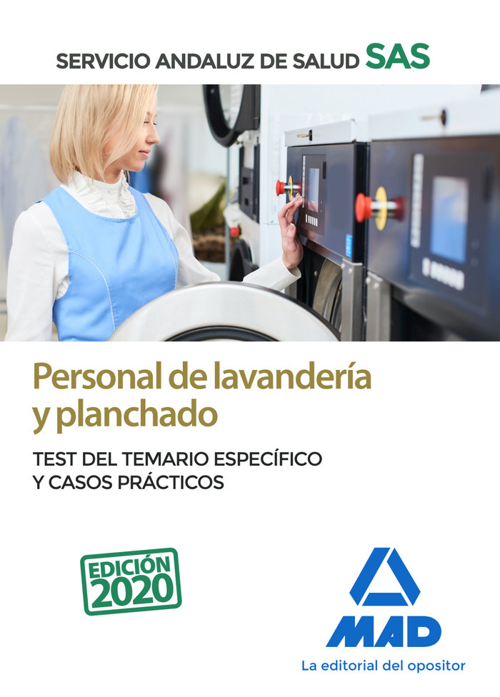 Personal de lavanderia y planchado del servicio andaluz de