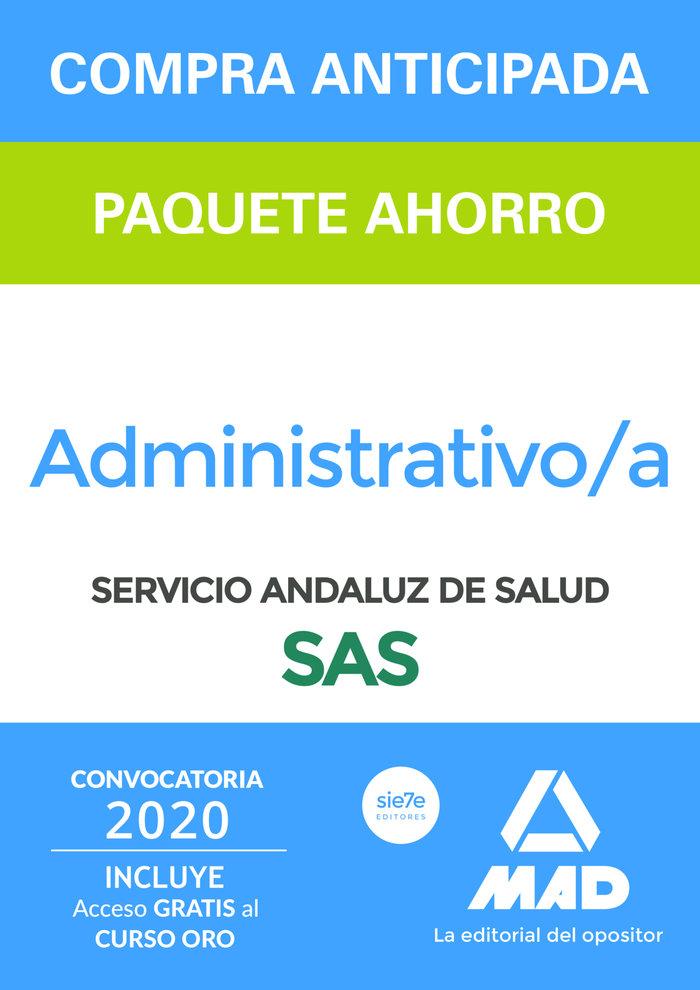 Paquete ahorro y test online gratis administrativo del servi