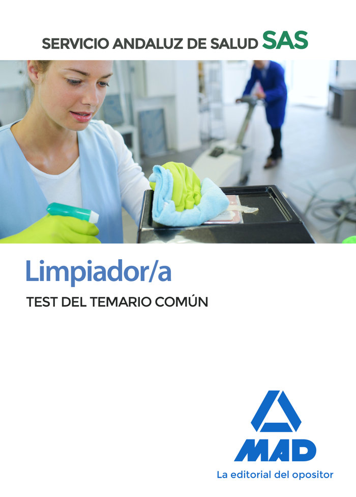 Limpiador/a sas test temario comun 2020