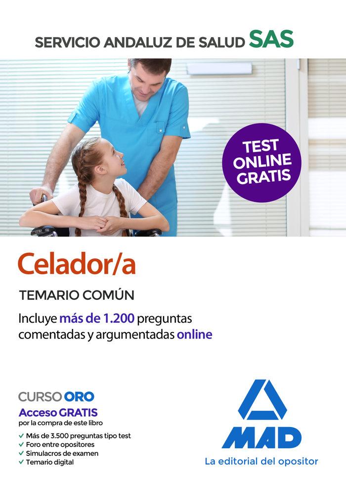 Celador/a servicio andaluz de salud temario comun 2020