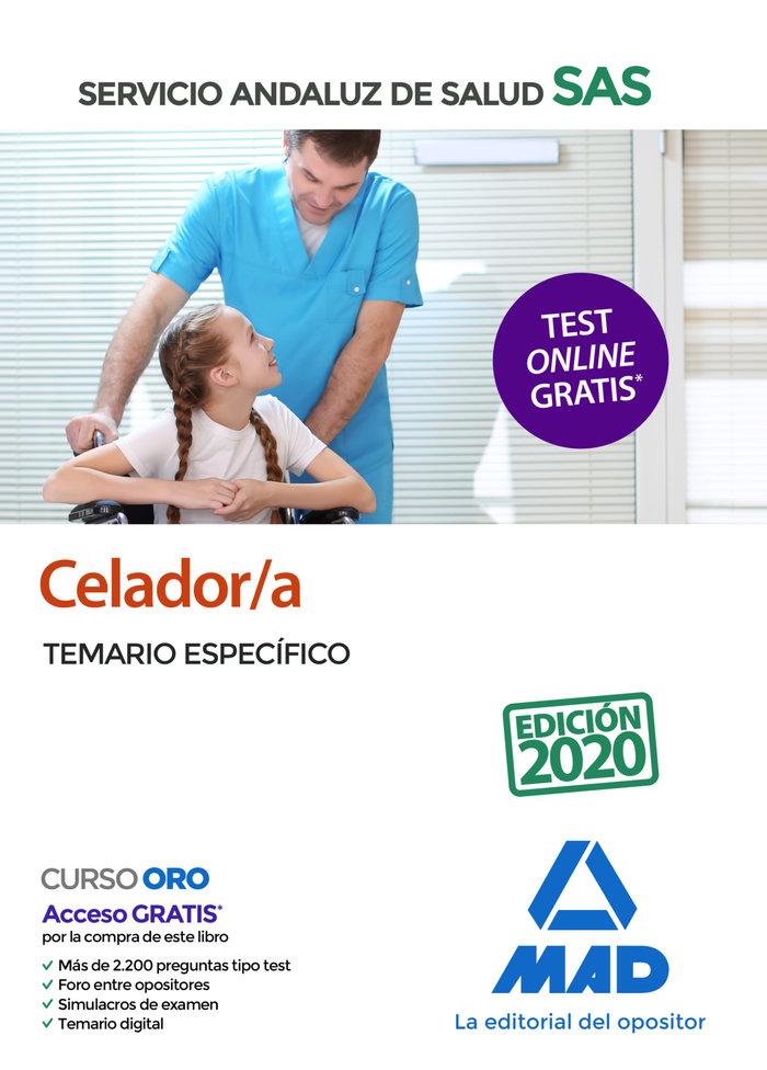 Celador/a sas temario especifico 2020