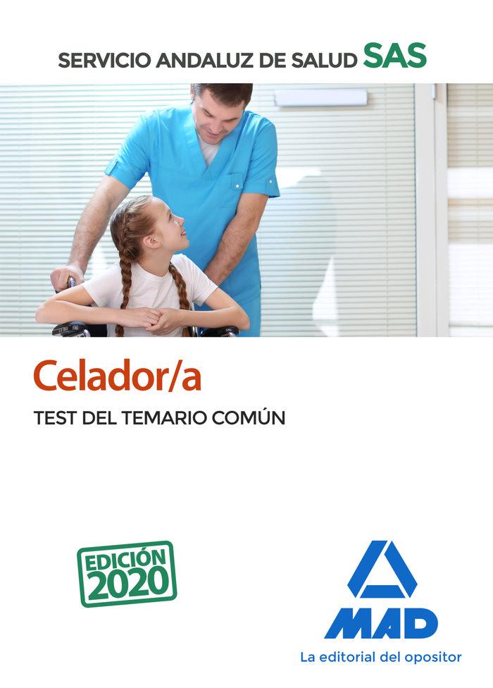 Celador/a servicio andaluz de salud test comun 2020