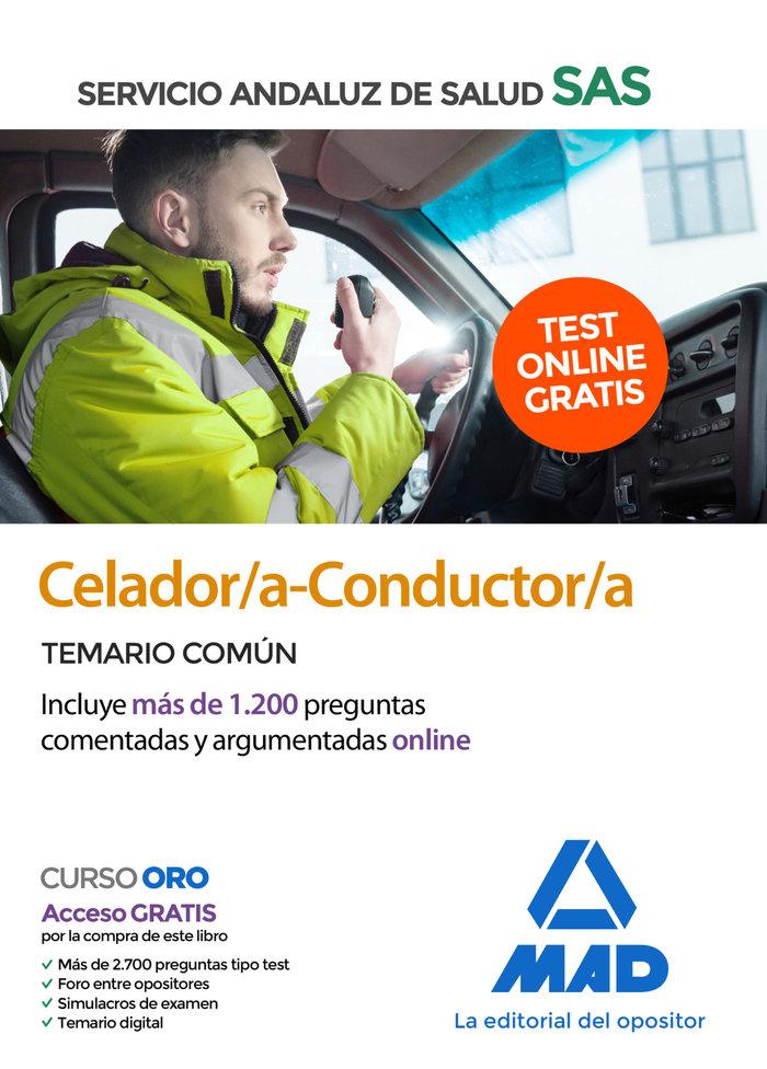 Celador/a-conductor/a sas temario comun 2020 +test on line