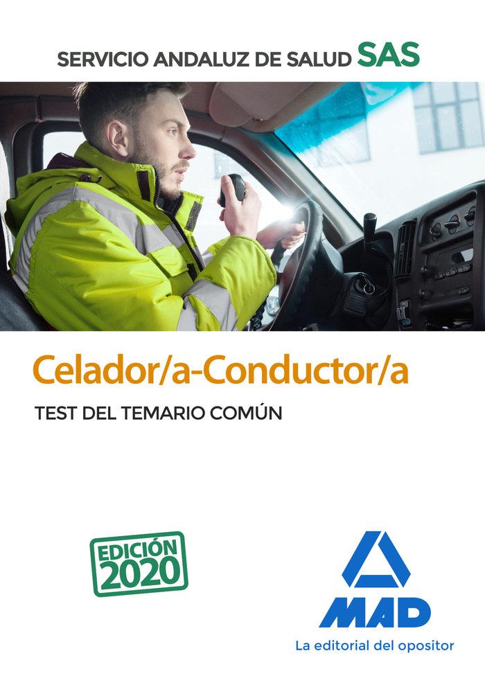 Celador/a-conductor/a sas test temario comun 2020