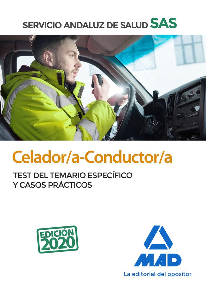 Celador/a-conductor/a del servicio andaluz de salud. test de