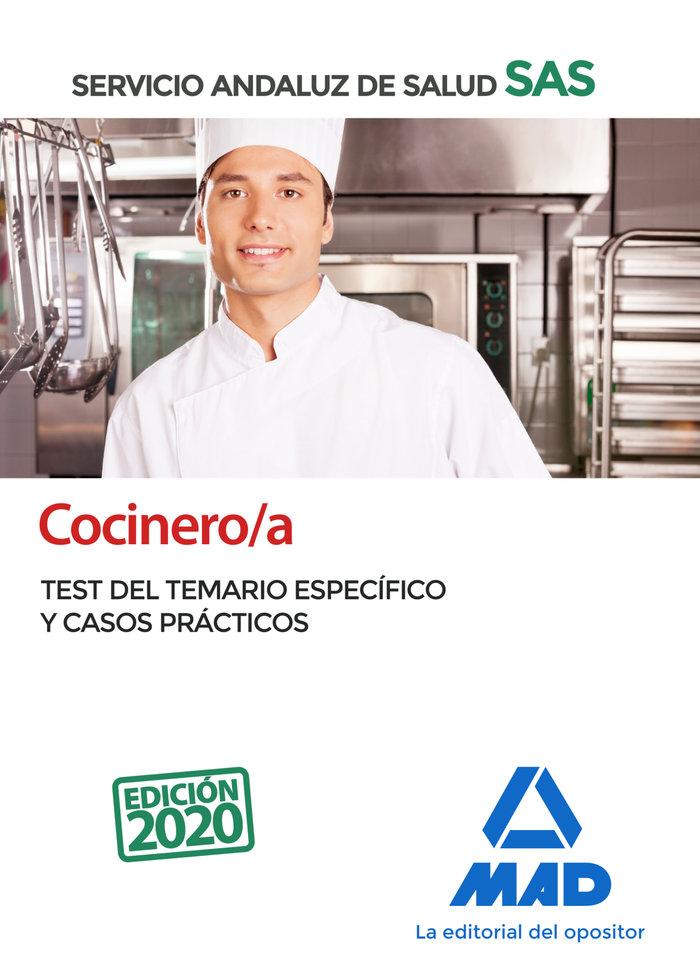 Cocinero/a servicio andaluz salud test especifico-caso prac