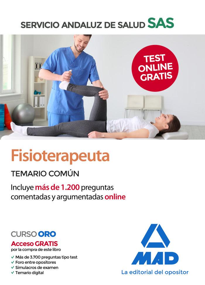 Fisioterapeuta sas temario comun 2020 +test online