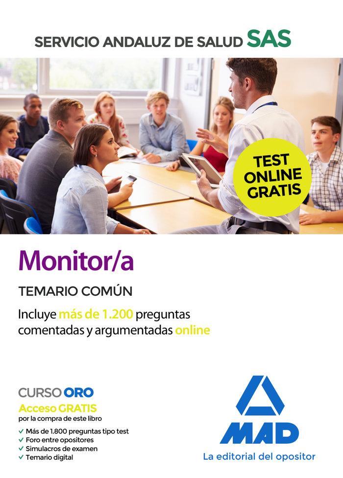 Monitor/a sas temario comun 2020