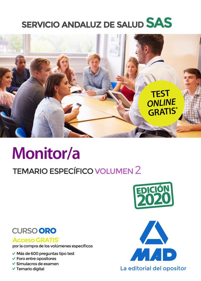 Monitor/a sas temario especifico vol 2 2020
