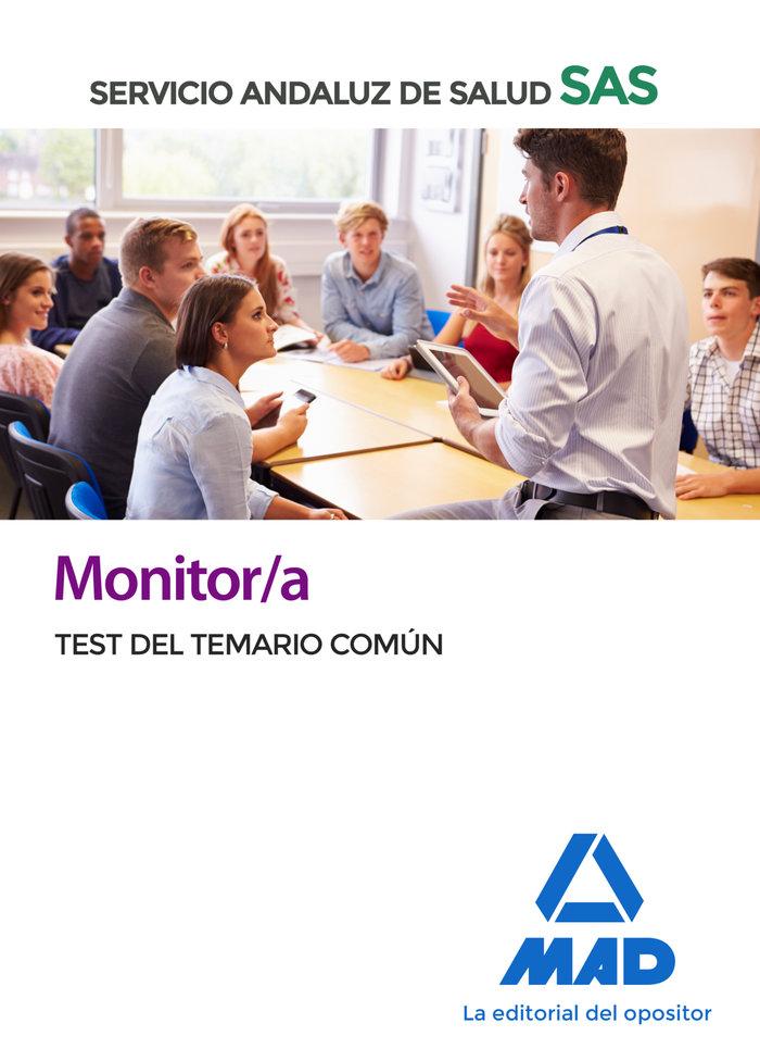 Monitor/a sas test temario comun 2020