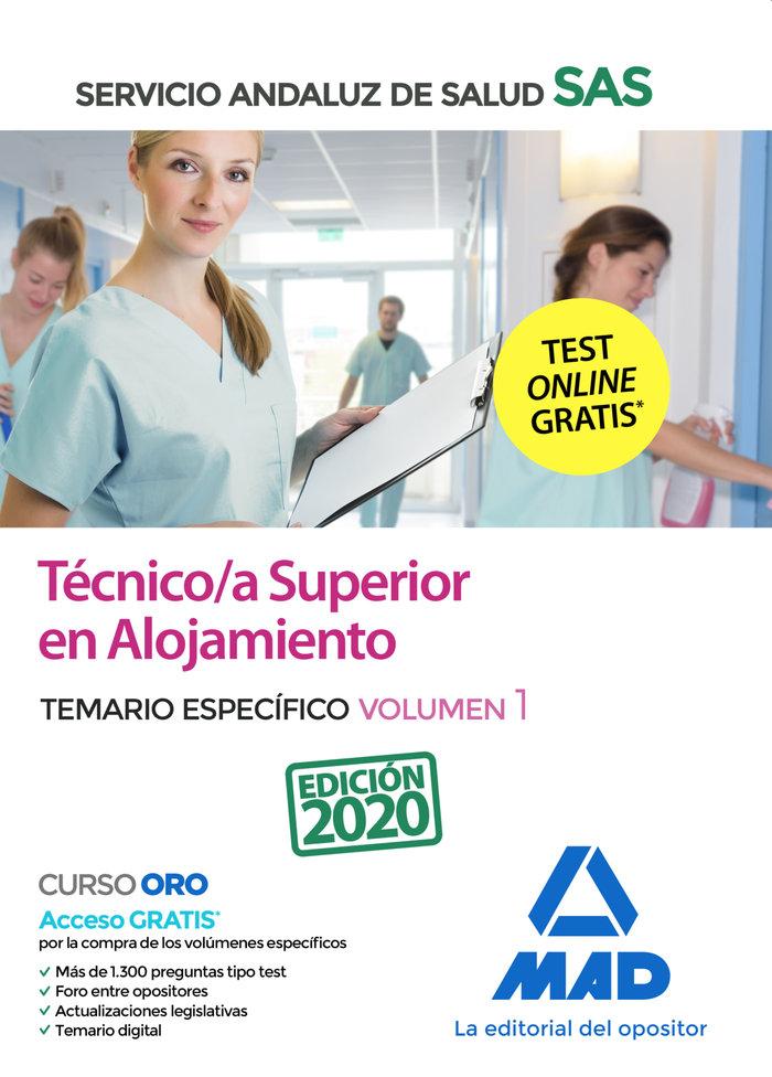 Tecnico/a superior alojamiento sas especifico vol 1 2020