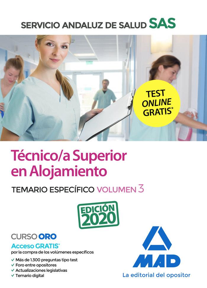 Tecnico/a superior de alojamiento del servicio andaluz de sa