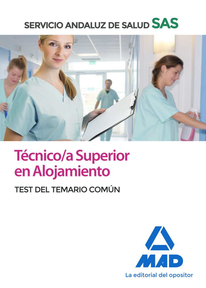 Tecnico/a superior alojamiento sas test comun 2020