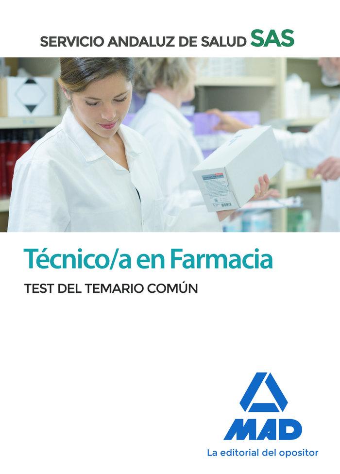 Tecnico farmacia sas test comun 2020