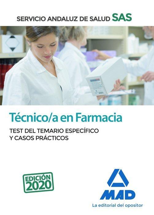 Tecnico en farmacia del servicio andaluz de salud. test del